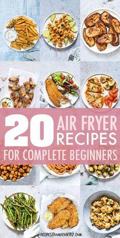Air Fryer Oven Recipes, Air Frier Recipes, Air Fryer Dinner Recipes, Oven Fryer, Air Fryer Recipes Potatoes, Recipes Dinner, Breakfast Recipes, Air Fryer Recipes Weight Watchers, Cooks Air Fryer