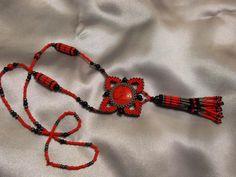 Красное и черное... | biser.info - всё о бисере и бисерном творчестве