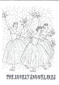 1000 images about all things nutcracker suite on for The nutcracker coloring pages