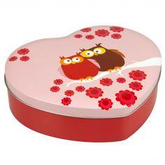 Speciaal voor Valentijn deze nieuwe blikken doos van Blafre in de vorm van een hartje. Vul ze met snoepjes, heerlijke koekjes of een kleine ...