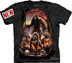 (THE-TEE-SHIRT-SHACK & TREND'S:) (GREAT-GRAPHIC-TEE'S; OFFICIALLY-LICENSED-DOUBLE-SIDED-U.S.MILITARY-TEES, ALL-NEW-N.R.A.& HUNTING TEE-SHIRT-DESIGN'S; PLUS ALL-YOUR-OFFICIAL-MLB & NFL-TEAM-TEES,THE-MOUNTAIN-TEE'S & COOL-WILDLIFE-TEES, BRIGHT-PIGMENT-TYE-DYED-TEES & HOODIES, WILD-FANTASY & SKULL-T...