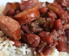 Susan's Red Beans and Rice (Louisiana Kitchen) Dash Diet Recipes, Low Sodium Recipes, Rice Recipes, Sodium Foods, Bean Recipes, Slow Cooker Recipes, Crockpot Recipes, Cooking Recipes, Meals