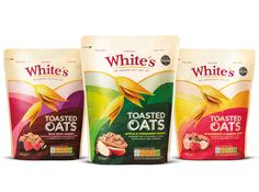 Whites Oats Packaging | Pearlfisher