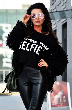 Leather Pants, Vogue, T Shirt, Tops, Free Shipping, Products, Fashion, Tunic, Leather Jogger Pants