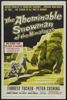 The Abominable Snowman (1957) - Peter Cushing  DVD