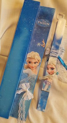 Frozen Birthday Party, Diy Candles, Party Gifts, Decoupage, Disney Princess, Disney Characters, Handmade, Easter Ideas, Crafts