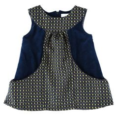Stars dress, overlay as central bodice and pockets!