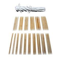 agujas bambu calcetines