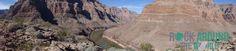 Panoramaansicht vom Grand Canyon, Arizona