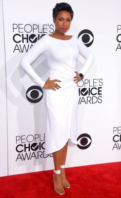 People's Choice Awards 2014  Jennifer Hudson has nothing to hide in her figure-hugging frock. Beautiful.