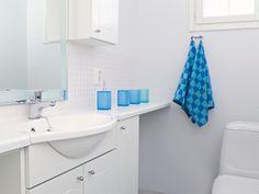 Frida - valkoinen. Decor, Home Decor, Bathroom, Bathroom Hooks, Sink