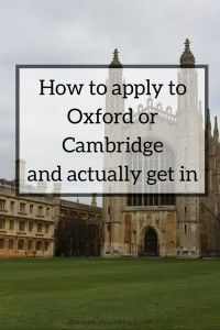 to Apply to Oxbridge and Actually Get In How to apply to Oxford or Cambridge and actually get in.How to apply to Oxford or Cambridge and actually get in. Cambridge Satchel, Cae Cambridge, Oxford Or Cambridge, Cambridge Student, King's College Cambridge, Cambridge Ielts, Cambridge Primary, Cambridge Exams, Study Tips