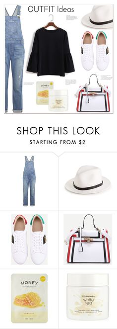 """""""Outfit ideas"""" by mycherryblossom on Polyvore featuring Current/Elliott, rag & bone, Forever 21 and Elizabeth Arden"""