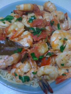 Martie Knows Parties - BLOG - Simple Summer Suppers: Lemon Herb Shrimp over Pasta