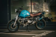 BMW R1100GS 'Blue hunter' by NCT Motorcycles