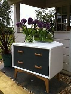 Retro Vintage G Plan Dressing Table/Chest of Drawers/Cabinet