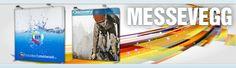 Print til messevegger på myke eller harde materialer.  messevegg, rollup, markeds markedsmateriell, roll-up, beachflagg, Banner, reklameseil og fasadeseil messevegger, rollups, roll-ups, beachflagg, beach banner, square beachflagg, Grafisk design