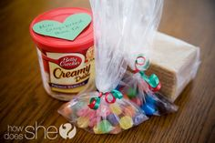 Neighbor Christmas Gift Idea- Mini Gingerbread House Kits