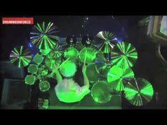 Stewart Copeland - Drum Solo (2nd Week) - David Letterman 8-24-11