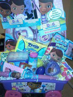Another great find on zulily pink blue doc mcstuffins gift doc mcstuffins easter basket negle Images