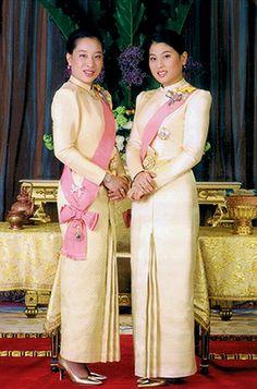 H.R.H Princess Bajrakitiyabha with H.R.H Princess Sirivannavari Nariratana of Thailand