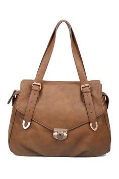 Foldover Handbag. Dislike hautelook but love the style.