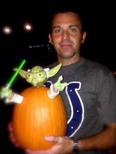 RK and Yoda - love this!! #irish #starwars #halloween