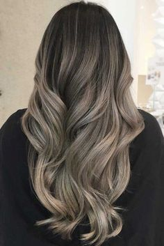 Long Wavy Ash-Brown Balayage - 20 Light Brown Hair Color Ideas for Your New Look - The Trending Hairstyle Ash Brown Hair Color, Ash Hair, Light Brown Hair, Coffee Brown Hair, Coffee Hair, Brown Hair Trends, Ash Blonde Balayage, Mi Long, Hair Highlights