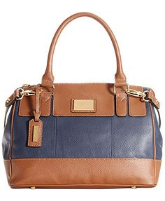 Tignanello Handbag, Social Leather Satchel. Love this in the red.