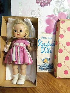 vintage nancy ann muffie doll with clothing and box ann dolls and clothing. Black Bedroom Furniture Sets. Home Design Ideas