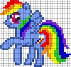my little pony knitting pattern free - Google Search