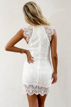 SABO SKIRT Armada Dress - White