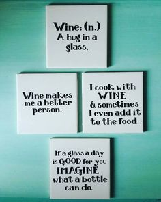 Items similar to Wine Quote Coasters, Ceramic Tile and Vinyl Coasters, Funny Wine Coasters, Drink Coaster Wine Quote Coasters Ceramic Tile and Vinyl by TreasuresofSavannah Ceramic Tile Crafts, Ceramic Coasters, Diy Coasters, Funny Coasters, Coaster Crafts, Tile Projects, Vinyl Projects, Circuit Projects, Stencils