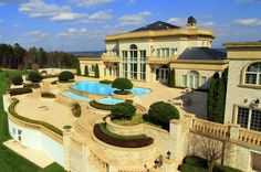 Mansion dream house: Magnificent Windy Hills Estate in Tennessee, United States