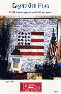 Grand Old Flag Quilt Pattern Black Mountain Quilts