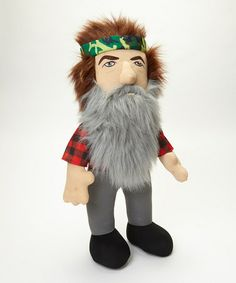 Another great find on #zulily! Duck Dynasty Talking Phil Plush Toy by Duck Dynasty #zulilyfinds