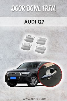 car essentials Car accessories for Audi Door Bowl Trim . Must have car customization and decoration accessories. Step up your cars look with this car essentials. Available for different makes and models. Mercedes Motor, Mercedes Car, Ferrari Car, Maserati Ghibli, Aston Martin Vanquish, Bmw I8, Audi Q7, Porsche 911, Bugatti