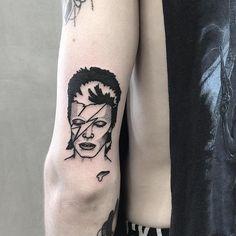 David Bowie Tattoos | POPSUGAR Beauty UK Photo 34