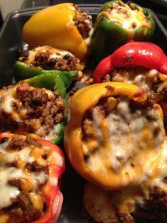 Crock Pot Mexican Stuffed Peppers