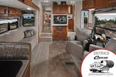 Keystone Cougar fifth wheel 297RKS, rv eye candy for those who would like a home on wheels #fifthwheel