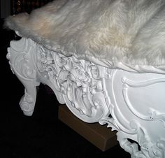 4092-FTBD BAROQUE BEDFRAME WHITE LACQUER | Flickr - Photo Sharing!