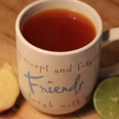 Ginger Lime Turmeric Tea