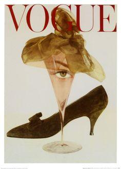 Vogue cover 1957