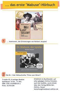 Fritz Lang, Movie, Memories, Reading