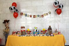 """Photo 2 of 38: Toy Story/Cowboy / Birthday """"Woody's Round Up Party"""""""