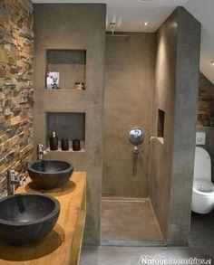 115 Extraordinary Small Bathroom Designs For Small Space. Modern Bathroom Designs For Small Spaces Modern Bathroom Design, Bathroom Interior Design, Serene Bathroom, Bath Design, Bathroom Black, Sink Design, Lavatory Design, Masculine Bathroom, Design Design