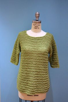 Ravelry: Easy Classic Top pattern by Lion Brand Yarn
