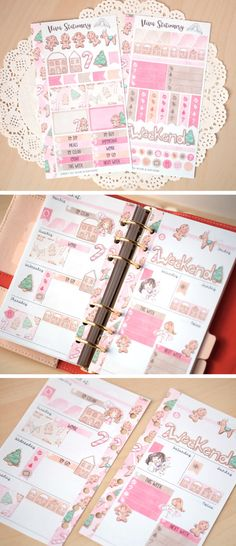 Personal Planner Decorative Sticker Kit two by VivaStationery