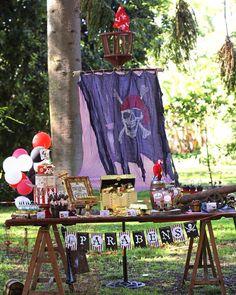 "77 curtidas, 1 comentários - Babka Sweet Table Design (@babkadesign) no Instagram: ""Pirate's Party #vintagedecor #piratesparty #partydesigner #babkadesign #festapiratas #piraci"""