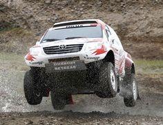 Toyota Hilux dakar rally